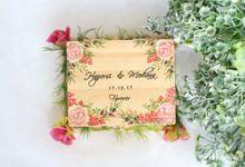 Custom Wedding Ring Box by Roopa