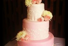 Simply Wedding Cake by THE ORANGE FRESH BAKED