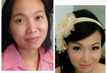 before & after by Xin-Ai Bride