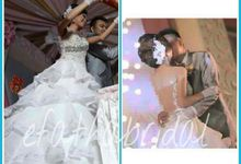 Ivan & Felin Wedding by Efatha Bridal