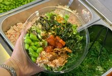 customized bowls for private party by HONOLULU POKE BOWL