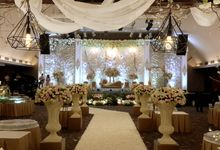 The Wedding Of Grant And Nella by Dream Decor