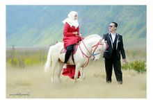 Prewedding Bromo by ian photography