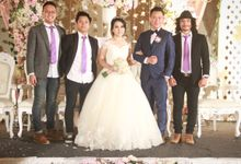 Linda & Yulius Wedding At Malaka Hotel by Josh & Friends Entertainment