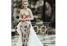 Custom wedding attire by ARIESANTHI by Tyas Santhi Fatmasari