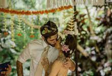 Simple Wedding In Ubud by Flo Wedding Organizer