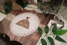 Rustic simply theme bridal shower by Mint party decor