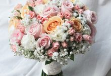 RENDY AND METTA WEDDING by Floline Flower