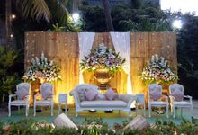 The Wedding Of Agil and Diki by Di Bloemens Decor