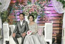 Rissa & Husni Wedding by Zhafira Catering & Decoration