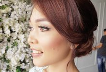 Make-Up for Photoshoot by Gesni Huang Professional Makeup Artist
