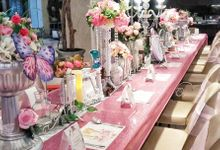 Enchanted  17th party by Mint party decor