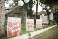 Virgie & Agung Wedding by Zhafira Catering & Decoration
