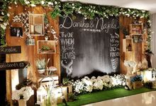 The Wedding Of Danika And Najela by Dream Decor
