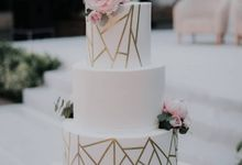 Modern Rustic Wedding of Feric and Vina by Amor Cake