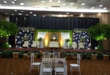 The Wedding Of Tya and Adit by Di Bloemens Decor