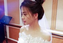 Bridal Actual Day 4 Looks by Lav.S Makeup & Styling