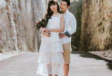 Prewedding Of - Ahi & Vivi by hm photography bali