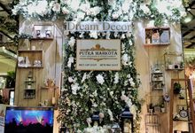 Wedding Exhibition Booth by Dream Decor