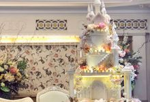 Fairy Tale Wedding Cake by Amor Cake