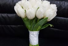 All Beauty In White Flower by nanami florist