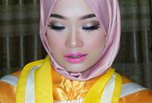 Make Up Wisuda - Novia & Dina - by Azeera Make Up