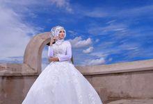 Make Up Prewedding - Dara - by Azeera Make Up