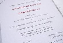 Alexander & Thesia by SentimeterCard