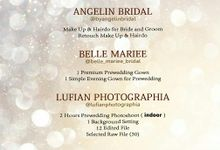 Packages Wedding & Pre-wedding 19/20 by AngeLin Bridal