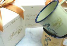 Enamel Mug Include Personalised Paperbag+Printing by Fine Souvenir