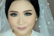 Elegant Make Up Bride by Kenneth Bridal