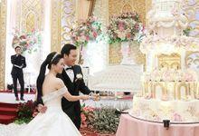 7 Tier Wedding Cake by breadseason