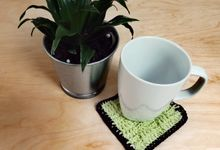 Chic Coaster by Coco's Knit