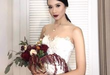 Ms. Amanda Zevannya & Ps. Gideons Wedding Day by Regis Bridal Shoes