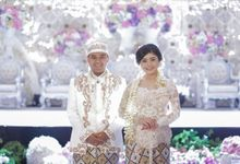 Lovely Bella & Chandra by Didadeux Wedding House