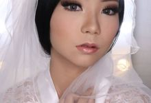 Linda (Wedding Airbrush Makeup - Monolid) by MarisaFe Bridal