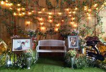 The Wedding Of Ega & Mel by Di Bloemens Decor