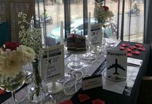 Anniversary Table Decor by Lavie Planner