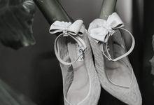 Pretty bride, Ms. Melody by Regis Bridal Shoes
