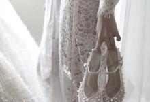 Mr. Vincen & Ms. Fenita by Regis Bridal Shoes