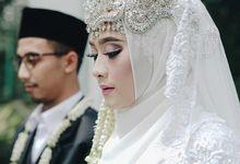 Akad nikah Si Cantik Isma & Acim by Aisya Argubi