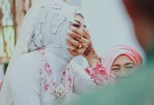 wedding and ijab by Velle Marry Photography