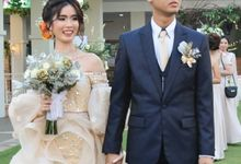 Garden Wedding Party For Junior & Emily by David Entertainment