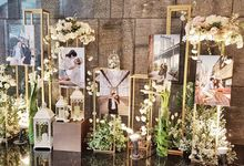 The Wedding Of Edwin And Caroline by Dream Decor