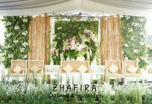 Gina & Herman Wedding by Zhafira Catering & Decoration
