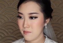 Bride Makeup by Natalina234