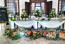 The Wedding Of Peter and Prita by Di Bloemens Decor