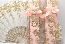Fan White Gold Include Personalised Box by Fine Souvenir