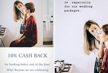 10% CASH BACK by Charlotte Beauty Studio