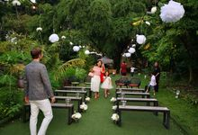 Cozy Outdoor Wedding Ceremony and Dinner by Te Planner